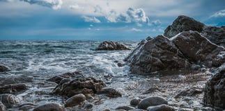 Dramatic seascape Royalty Free Stock Photo