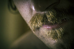 Dramatic Serious Mustache Stock Photos