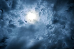 Dramatic skies Royalty Free Stock Photography