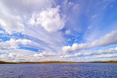 Dramatic Skies in the Boundary Waters Royalty Free Stock Image