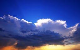 Dramatic sky Stock Image