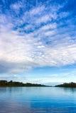 Dramatic Sky in the Amazon Stock Photo
