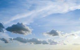 Dramatic sky Royalty Free Stock Image