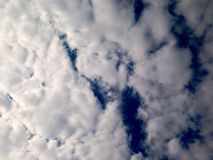 Dramatic sky, clouds background, before rain. Wallpaper royalty free stock images