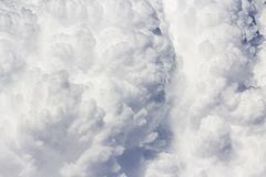 Dramatic sky with clouds Royalty Free Stock Images