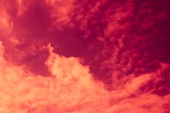 Dramatic sky, clouds and sunlight Royalty Free Stock Image
