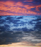 Dramatic sky collection Royalty Free Stock Photos