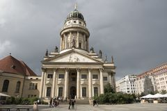 French Cathedral, Gendarmenmarkt, Berlin Royalty Free Stock Images