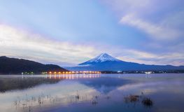 Dramatic sky over Mt.Fuji : Japan Royalty Free Stock Images