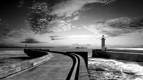 Free Dramatic Sky Over The Sea Stock Photography - 63067392