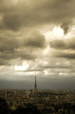 Dramatic sky over Torino Royalty Free Stock Photo