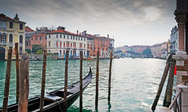 Dramatic sky over Venice Stock Photography
