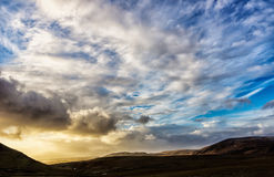 Dramatic sky scape Stock Photos