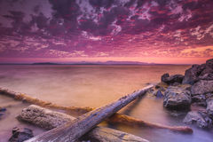 Dramatic Sky Shot Royalty Free Stock Images