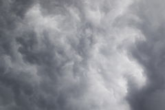 Dramatic sky. Storm clouds, background Stock Images