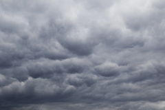 Dramatic sky. Storm clouds, background Royalty Free Stock Photography