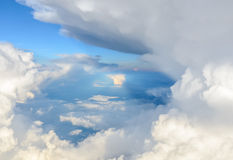 Dramatic sky with storm clouds Royalty Free Stock Photography