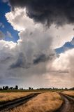 Dramatic sky with stormy clouds Royalty Free Stock Photos