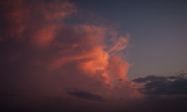 Dramatic sky. Stock Photos