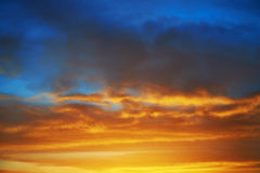Dramatic sky Royalty Free Stock Photo