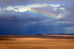 Dramatic sky in the Utah desert. Stock Photography