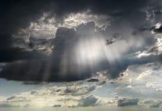 Dramatic sky view. Stock Image
