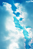 Dramatic skyscape Stock Photo
