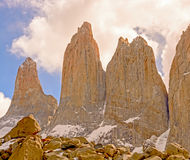 Dramatic Spires into the Clouds Stock Photos