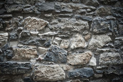 Dramatic stone wall texture Royalty Free Stock Photo