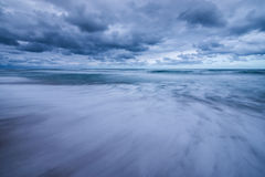 Dramatic storm clouds Royalty Free Stock Photos