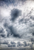Dramatic stormy clouds. Royalty Free Stock Photo