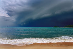 Dramatic stormy clouds. Royalty Free Stock Images