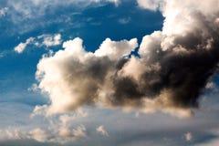 Dramatic stormy clouds, sky bakcground. Dramatic stormy clouds, sky background, image of a royalty free stock image