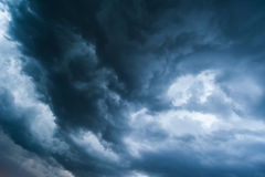 Dramatic Stormy Cloudscape Royalty Free Stock Image