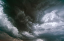 Dramatic stormy cloudscape Royalty Free Stock Photography