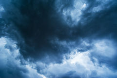 Dramatic stormy cloudscape Royalty Free Stock Photos