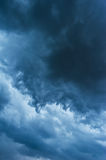 Dramatic stormy cloudscape Stock Photo