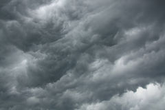 Dramatic stormy sky Stock Photo