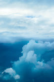 Dramatic stormy sky Royalty Free Stock Photos