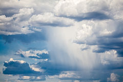 Dramatic Stormy Sky. Photo of a dramatic sky with rain stock images