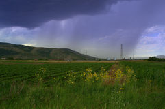 Dramatic stormy sky Royalty Free Stock Image