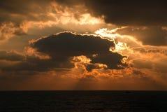 Dramatic sunrise Stock Photography