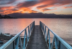 Free Dramatic Sunrise At Red Sea, Eilat Stock Photography - 34674232
