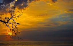 Dramatic Sunrise. stock photo