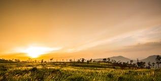 Dramatic Sunrise over Royalty Free Stock Photos