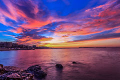 Dramatic sunrise sky Royalty Free Stock Image