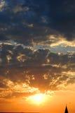 Dramatic sunrise stock images