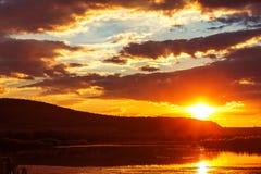 Free Dramatic Sunset Stock Photo - 33973670