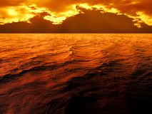 Dramatic sunset Stock Photo