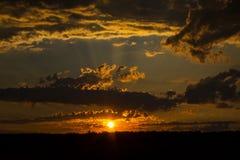 Free Dramatic Sunset Royalty Free Stock Images - 97473209